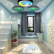 现代小男生儿童房装修设计效果图