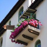 精美的阳台外景图