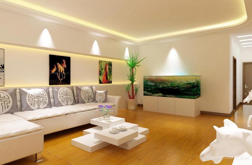 128平米时尚风格室内装修效果图大全