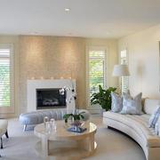 120平米美式风格样板房装修效果图