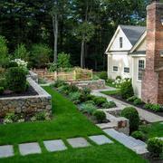 庭院小径装修图片