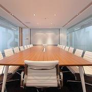 欧式风格企业大型会议室效果图欣赏