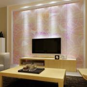 现代欧式大户型客厅背景墙装修效果鉴赏