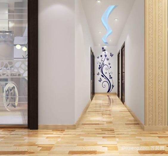 大户型现代欧式走廊吊顶装修效果图鉴赏