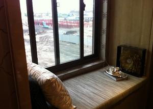 别墅清新风格飘窗设计装修效果图