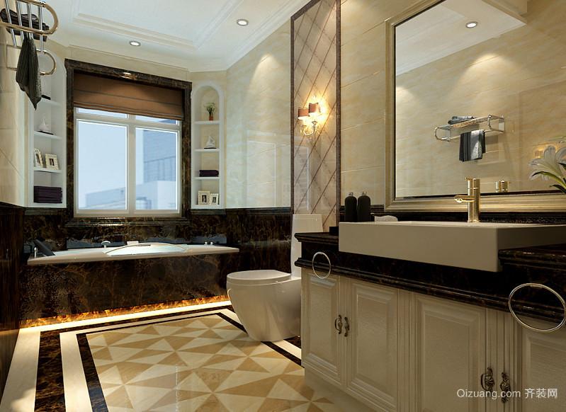大户型现代欧式洗手间装修效果图实例鉴赏