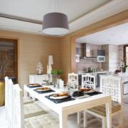 欧式大户型开放式厨房装修效果图鉴赏