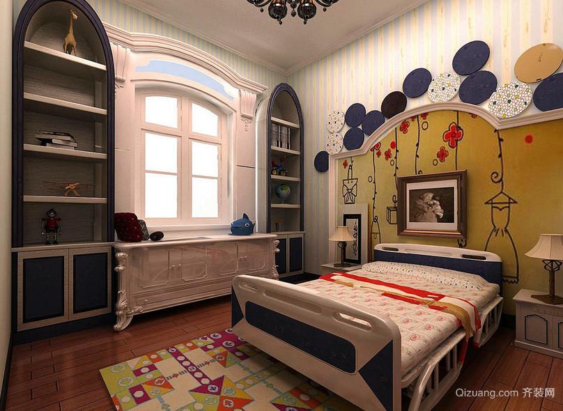 混搭个性大户型儿童房装修设计效果图