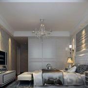 纯白色调卧室设计图