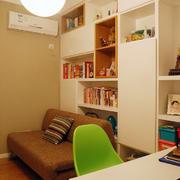 新房书房书柜图片