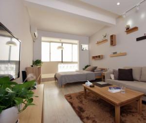 现代欧式单身公寓装修效果图鉴赏实例
