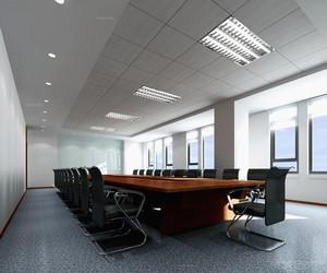 北欧大会议室现代简约100平米装修效果图