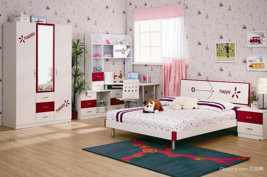 三居室宜家风格儿童房设计装修效果图