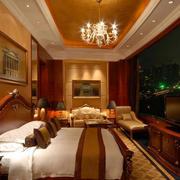 6层精致商务酒店装修效果图