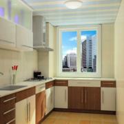 大户型欧式开放式厨房装修效果图实例