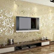 暖色调墙纸装修设计