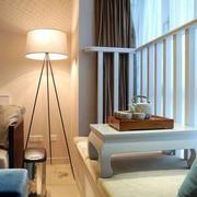 后现代风格简约卧室飘窗装修效果图