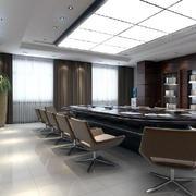 大会议室现代工业风格效果图展示
