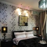 30平米后现代风格卧室液体墙纸装修效果图