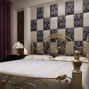 奢华风格卧室软包墙饰