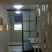 现代卫生间灯光设计