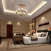 现代小户型欧式卧室装修效果图实例欣赏