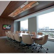 现代私企大中型会议室后现代风格效果图