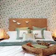 新房卧室床头背景
