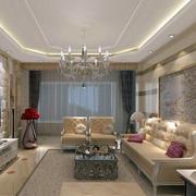 欧式风格客厅电视背景墙装饰