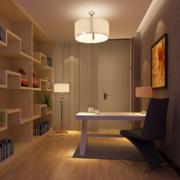 现代大户型精致书房装修设计效果图鉴赏