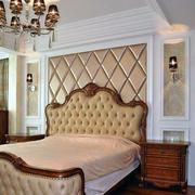 欧式经典风格软包墙饰装饰