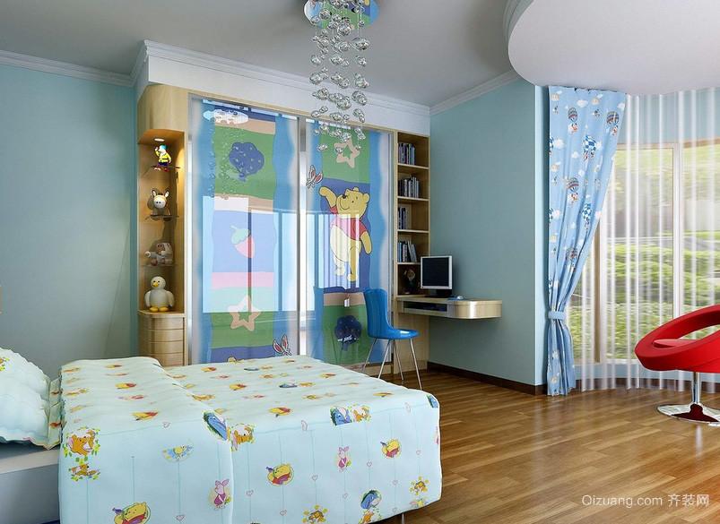 现代简约20平米儿童房装修设计效果图