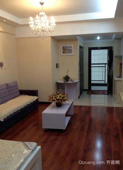 50平米精致单身公寓装修效果图