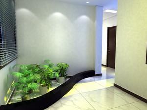 三居室空气清新入户花园装修效果图