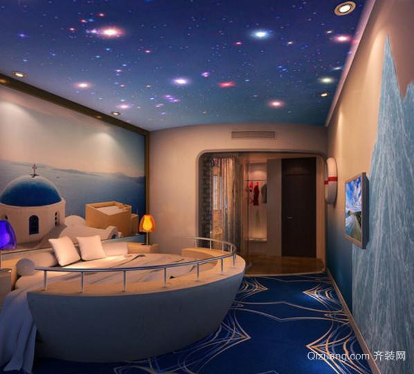 现代大户型地中海风格儿童房装修效果图实例