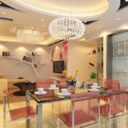 现代欧式大户型室内客厅装修效果图鉴赏