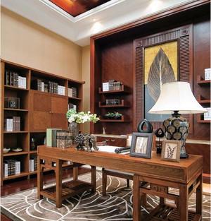 东南亚风格别墅室内装修设计效果图