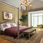 100平米都市风格卧室装修效果图
