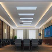 现代会议室窗帘图