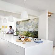 北欧式大户型别墅吧台设计装修效果图