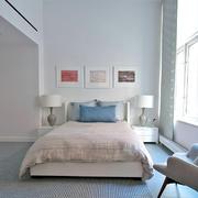 现代小户型二居室别墅装潢设计效果图