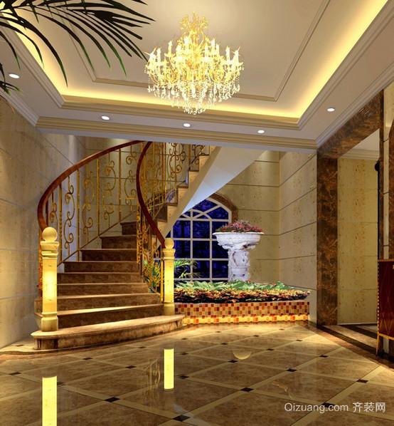 现代欧式小别墅设计装修效果图实例欣赏