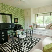 二居室现代欧式飘窗装修效果图实例鉴赏