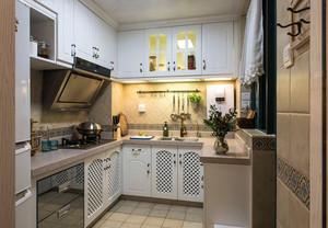 田园风格小户型厨房装修效果图片