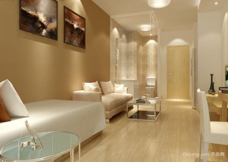 现代唯美的小公寓装修效果图鉴赏实例