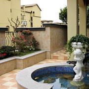 138平米简约风格入户花园装修效果图