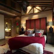 别墅温馨卧室图片