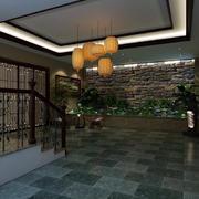 别墅中式门厅欣赏