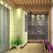 别墅精心设计入户花园装修效果图