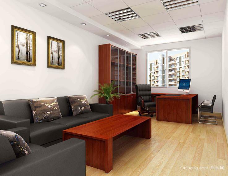 商务大楼办公室装潢效果图
